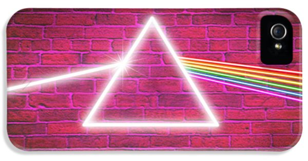 Pink iPhone 5 Cases - Neon Floyd iPhone 5 Case by Cristophers Dream Artistry