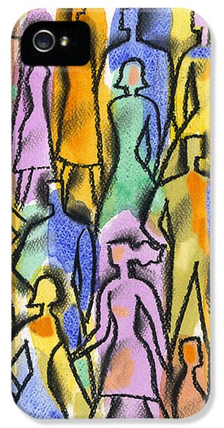 Cooperation iPhone 5 Cases - Network iPhone 5 Case by Leon Zernitsky