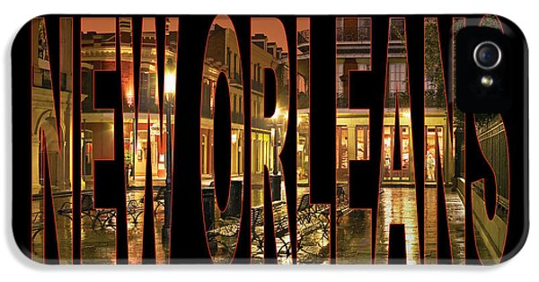 New Orleans French Quarter IPhone 5 / 5s Case by Marvin Blaine