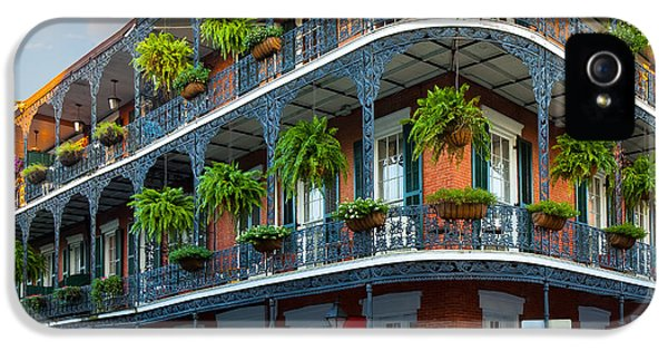 Culture iPhone 5 Cases - New Orleans House iPhone 5 Case by Inge Johnsson