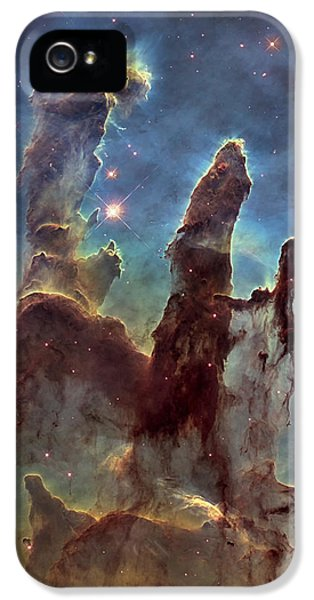New Pillars Of Creation Hd Tall IPhone 5 / 5s Case by Adam Romanowicz
