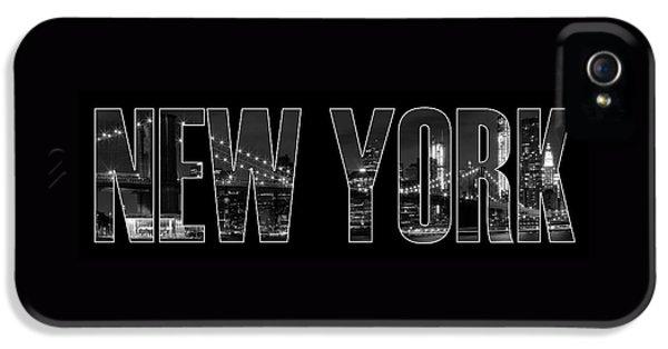 New iPhone 5 Cases - NEW YORK CITY Brooklyn Bridge bw iPhone 5 Case by Melanie Viola
