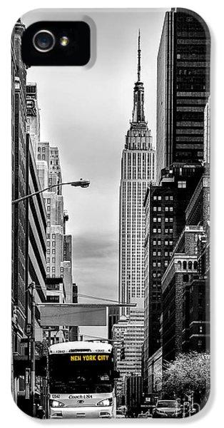 New York Express IPhone 5 / 5s Case by Az Jackson
