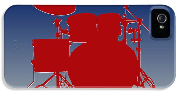 New York Giants Drum Set IPhone 5 / 5s Case by Joe Hamilton