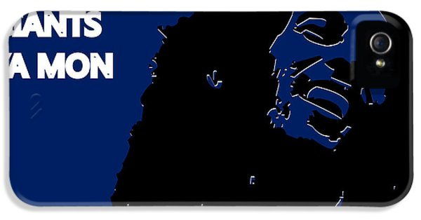 New York Giants Ya Mon IPhone 5 / 5s Case by Joe Hamilton