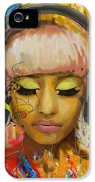 Hip Hop iPhone 5 Cases - Nicki Minaj iPhone 5 Case by Corporate Art Task Force