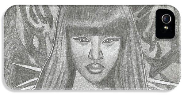 Nicki Minaj iPhone 5 Cases - Nicki Minaj iPhone 5 Case by Twist Kelly Manyama