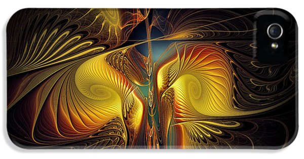 Contemplative iPhone 5 Cases - Night Exposure iPhone 5 Case by Karin Kuhlmann