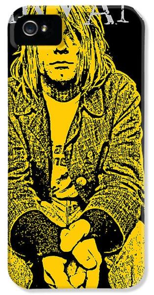 Nirvana iPhone 5 Cases - Nirvana No.07 iPhone 5 Case by Caio Caldas
