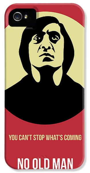 No iPhone 5 Cases - No Country for Old Man Poster 3 iPhone 5 Case by Naxart Studio