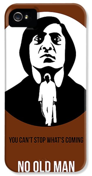 No iPhone 5 Cases - No Country for Old Man Poster 4 iPhone 5 Case by Naxart Studio