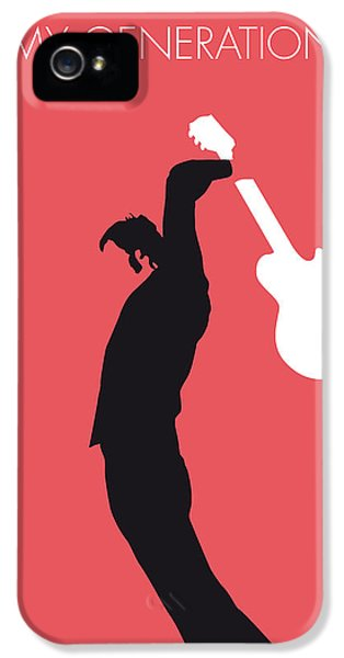 Who iPhone 5 Cases - No002 MY THE WHO Minimal Music poster iPhone 5 Case by Chungkong Art