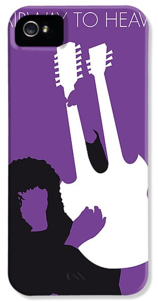 No011 My Led Zeppelin Minimal Music Poster IPhone 5 / 5s Case by Chungkong Art