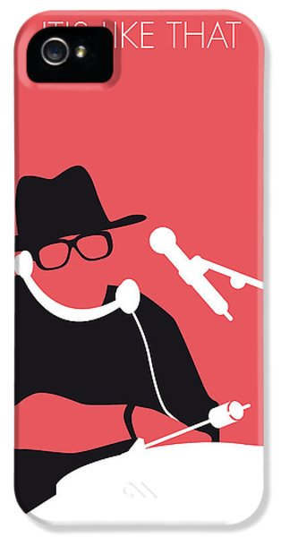 Hip Hop iPhone 5 Cases - No022 MY RUN DMC Minimal Music poster iPhone 5 Case by Chungkong Art