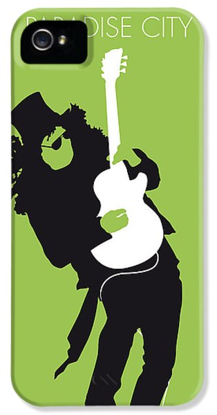Guns iPhone 5 Cases - No036 MY GUNS AND ROSES Minimal Music poster iPhone 5 Case by Chungkong Art