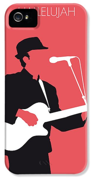 Idea iPhone 5 Cases - No042 MY LEONARD COHEN Minimal Music iPhone 5 Case by Chungkong Art