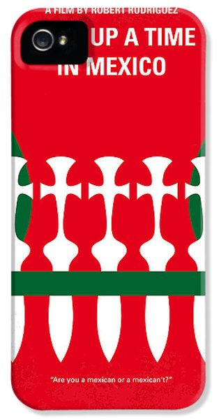 Drug iPhone 5 Cases - No058 My once upon a time in mexico minimal movie poster iPhone 5 Case by Chungkong Art