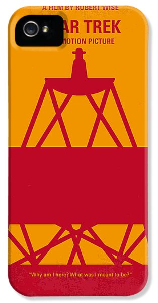 Sci Fi Art iPhone 5 Cases - No081 My Star Trek 1 minimal movie poster iPhone 5 Case by Chungkong Art
