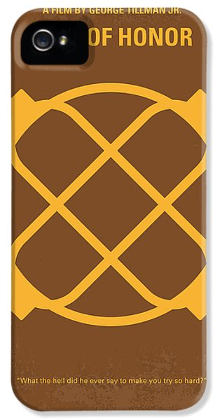 Honor iPhone 5 Cases - No099 My Men of Honor minimal movie poster iPhone 5 Case by Chungkong Art
