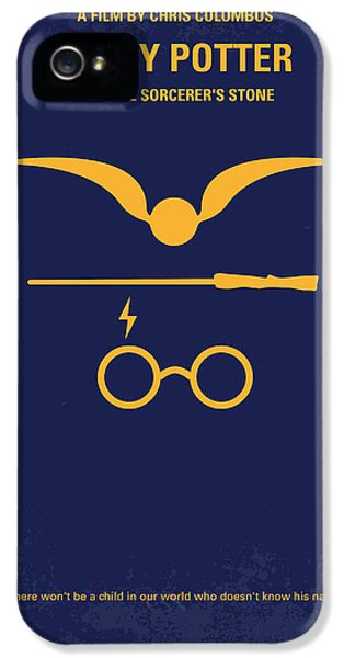 Retro iPhone 5 Cases - No101 My Harry Potter minimal movie poster iPhone 5 Case by Chungkong Art