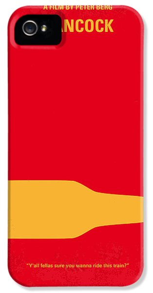 No129 My Hancock Minimal Movie Poster IPhone 5 / 5s Case by Chungkong Art