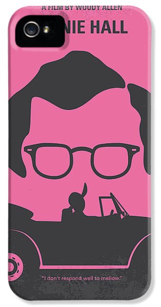 Crime Drama Movie iPhone 5 Cases - No147 My Annie Hall minimal movie poster iPhone 5 Case by Chungkong Art