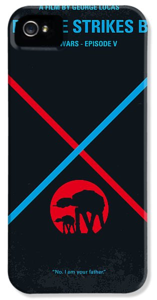 Force iPhone 5 Cases - No155 My STAR WARS Episode V The Empire Strikes Back minimal movie poster iPhone 5 Case by Chungkong Art