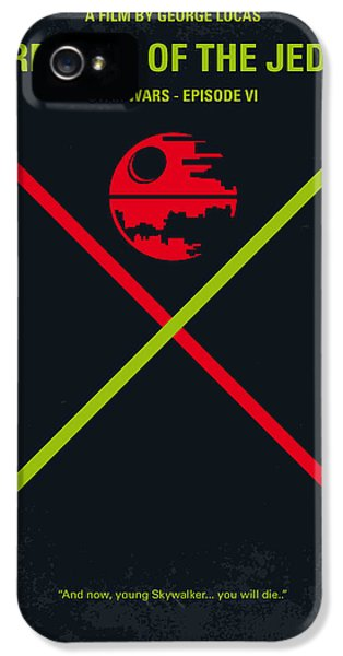 Force iPhone 5 Cases - No156 My STAR WARS Episode VI Return of the Jedi minimal movie poster iPhone 5 Case by Chungkong Art