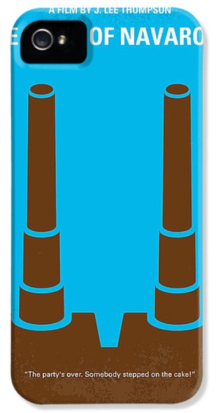 Guns iPhone 5 Cases - No168 My The Guns of Navarone minimal movie poster iPhone 5 Case by Chungkong Art