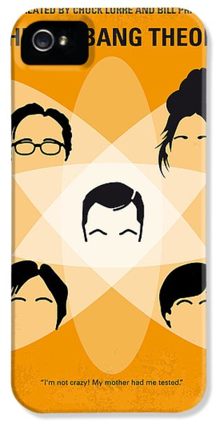 Science Print iPhone 5 Cases - No196 My The Big Bang Theory minimal poster iPhone 5 Case by Chungkong Art