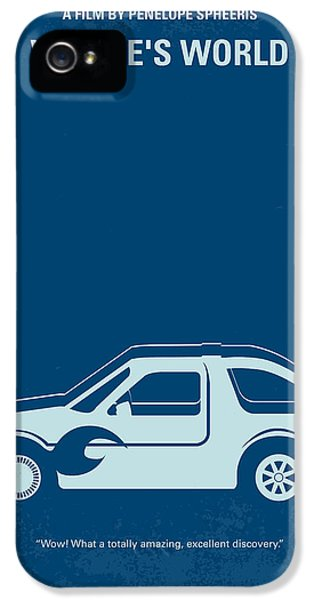 Tv Show iPhone 5 Cases - No211 My Waynes World minimal movie poster iPhone 5 Case by Chungkong Art