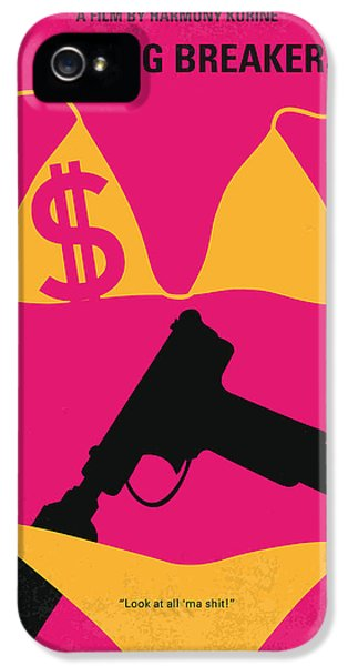 Bad iPhone 5 Cases - No218 My SPRING BREAKERS minimal movie poster iPhone 5 Case by Chungkong Art