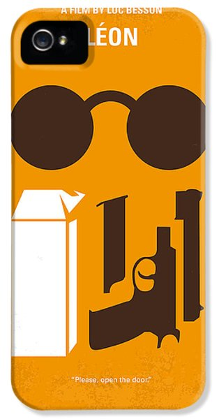 No239 My Leon Minimal Movie Poster IPhone 5 / 5s Case by Chungkong Art