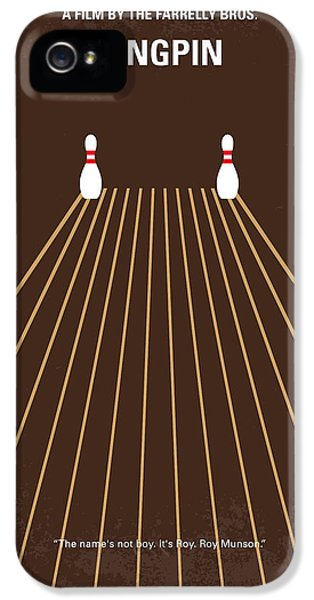 No244 My Kingpin Minimal Movie Poster IPhone 5 / 5s Case by Chungkong Art