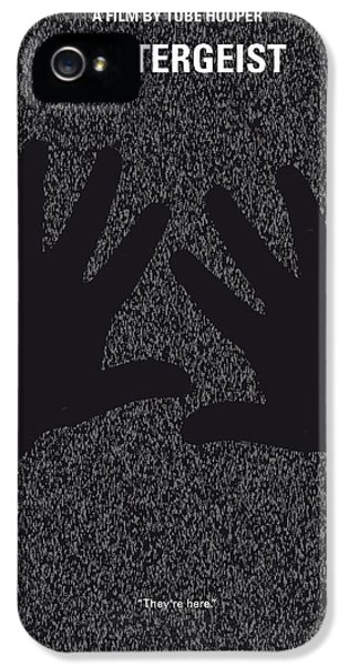 Ghost iPhone 5 Cases - No266 My POLTERGEIST minimal movie poster iPhone 5 Case by Chungkong Art