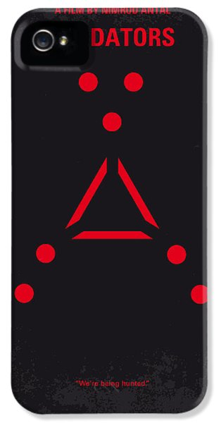 No289 My Predators Minimal Movie Poster IPhone 5 / 5s Case by Chungkong Art