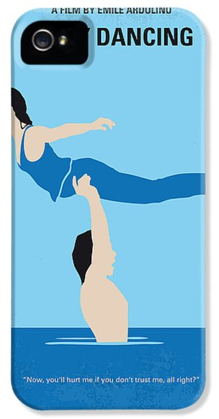 Dirty iPhone 5 Cases - No298 My Dirty Dancing minimal movie poster iPhone 5 Case by Chungkong Art
