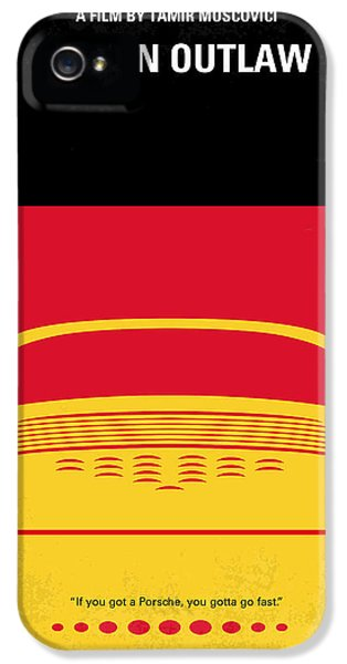 Original Porsche 911 iPhone 5 Cases - No316 My URBAN OUTLAW minimal movie poster iPhone 5 Case by Chungkong Art