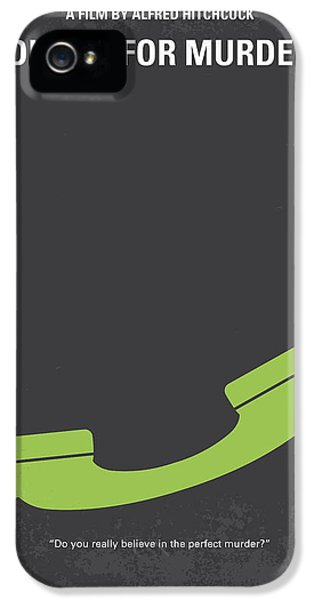 Wife iPhone 5 Cases - No328 My Dial M for Murder minimal movie poster iPhone 5 Case by Chungkong Art