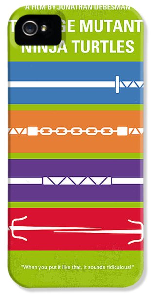 Idea iPhone 5 Cases - No346 My Teenage Mutant Ninja Turtles minimal movie poster iPhone 5 Case by Chungkong Art