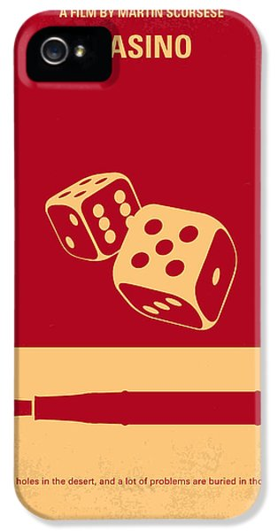 Idea iPhone 5 Cases - No348 My Casino minimal movie poster iPhone 5 Case by Chungkong Art