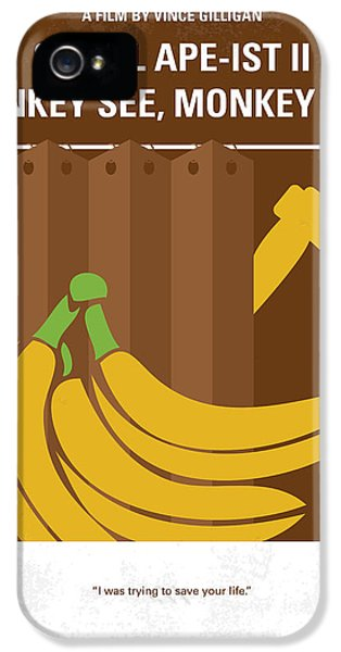 Science Print iPhone 5 Cases - No356 My Serial Ape-ist minimal movie poster iPhone 5 Case by Chungkong Art