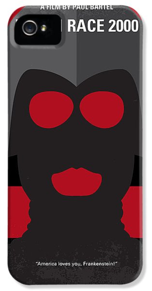 Future iPhone 5 Cases - No371 My Death Race 2000 minimal movie poster iPhone 5 Case by Chungkong Art