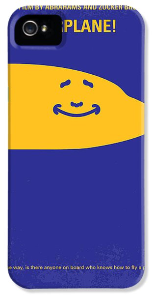 Airplane iPhone 5 Cases - No395 My Airplane minimal movie poster iPhone 5 Case by Chungkong Art