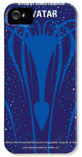 Epic iPhone 5 Cases - No404 My Avatar minimal movie poster iPhone 5 Case by Chungkong Art