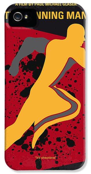 No425 My Running Man Minimal Movie Poster IPhone 5 / 5s Case by Chungkong Art