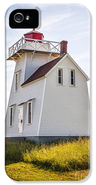 Safety iPhone 5 Cases - North Rustico Lighthouse iPhone 5 Case by Elena Elisseeva