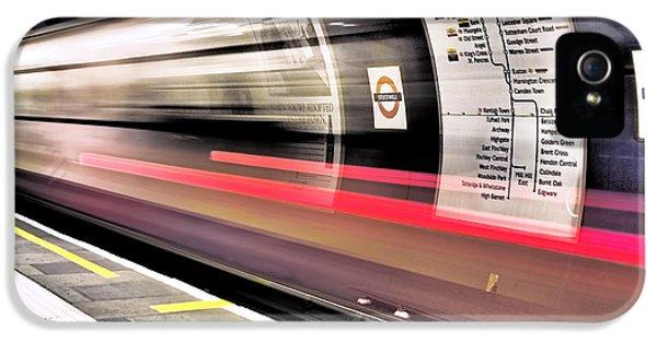 Northbound Underground IPhone 5 / 5s Case by Rona Black