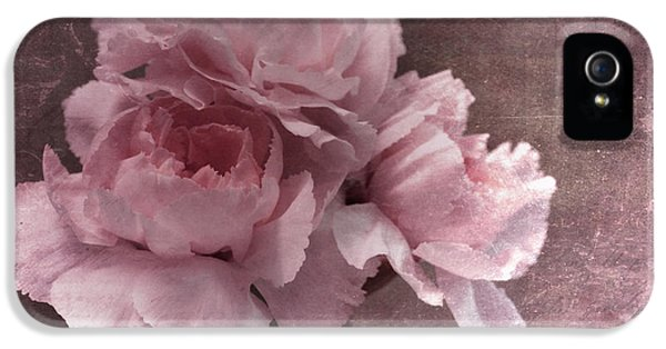 Carnations iPhone 5 Cases - Nostalgia iPhone 5 Case by Priska Wettstein