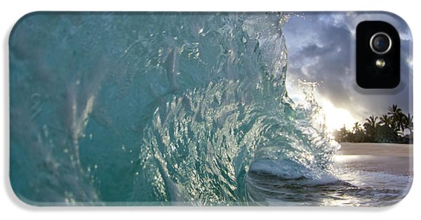 Water iPhone 5 Cases - Magnificent Curl iPhone 5 Case by Sean Davey
